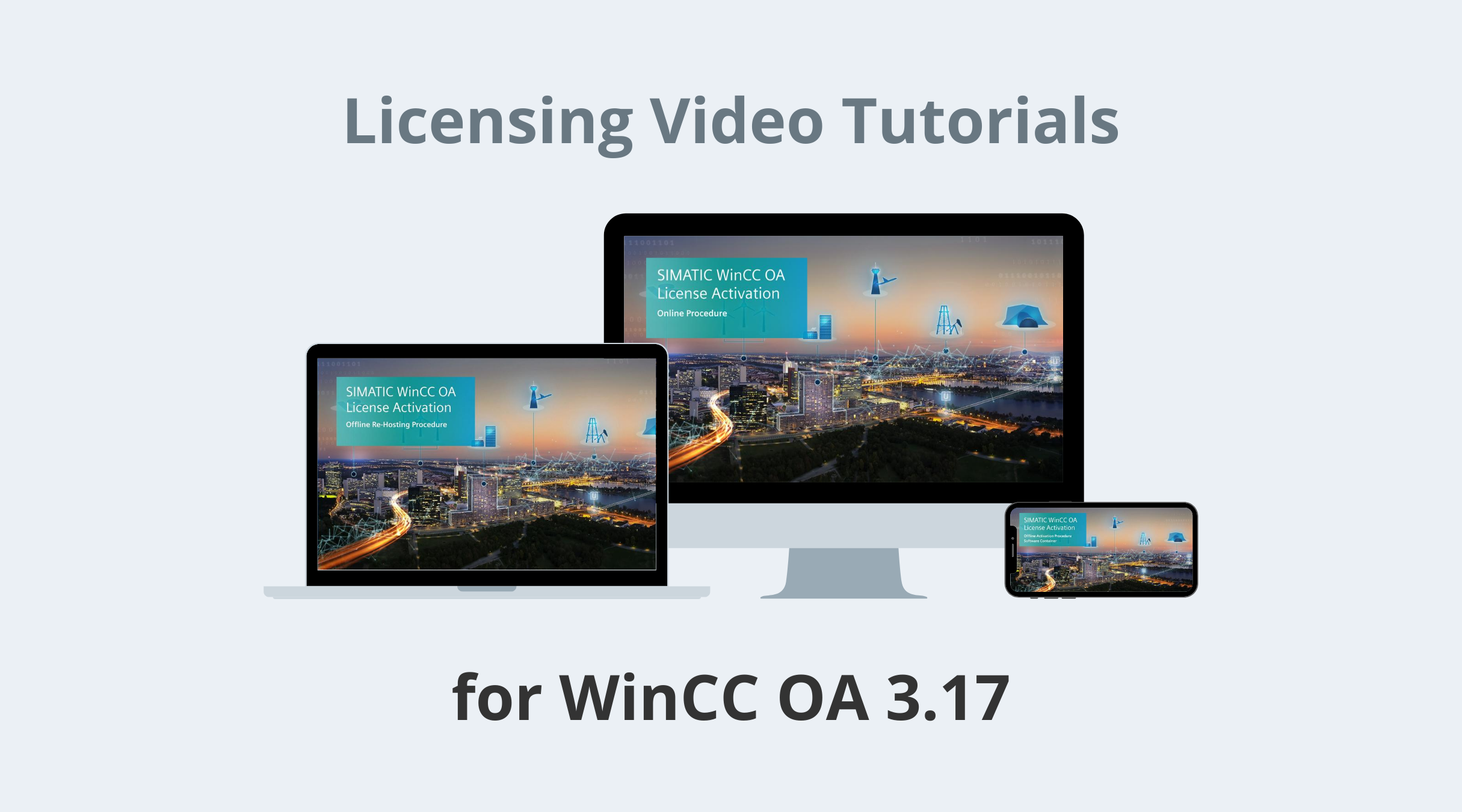 WinCC OA Video Tutorials