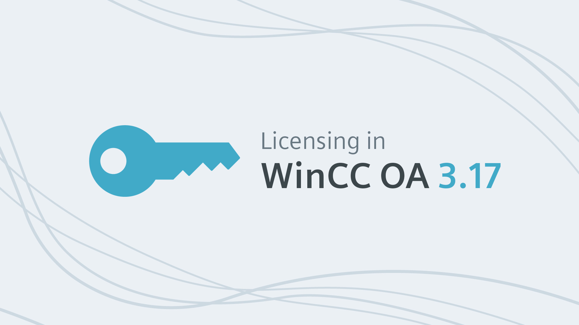 Licensing in WinCC OA